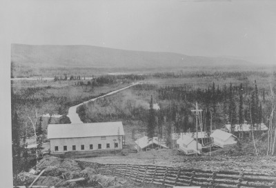 Dawson City taken at midnight 1898-1910 (Photo credit: Library and Archive of Canada)